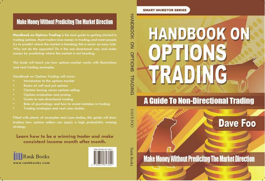 Handbook on Options Trading Backcover